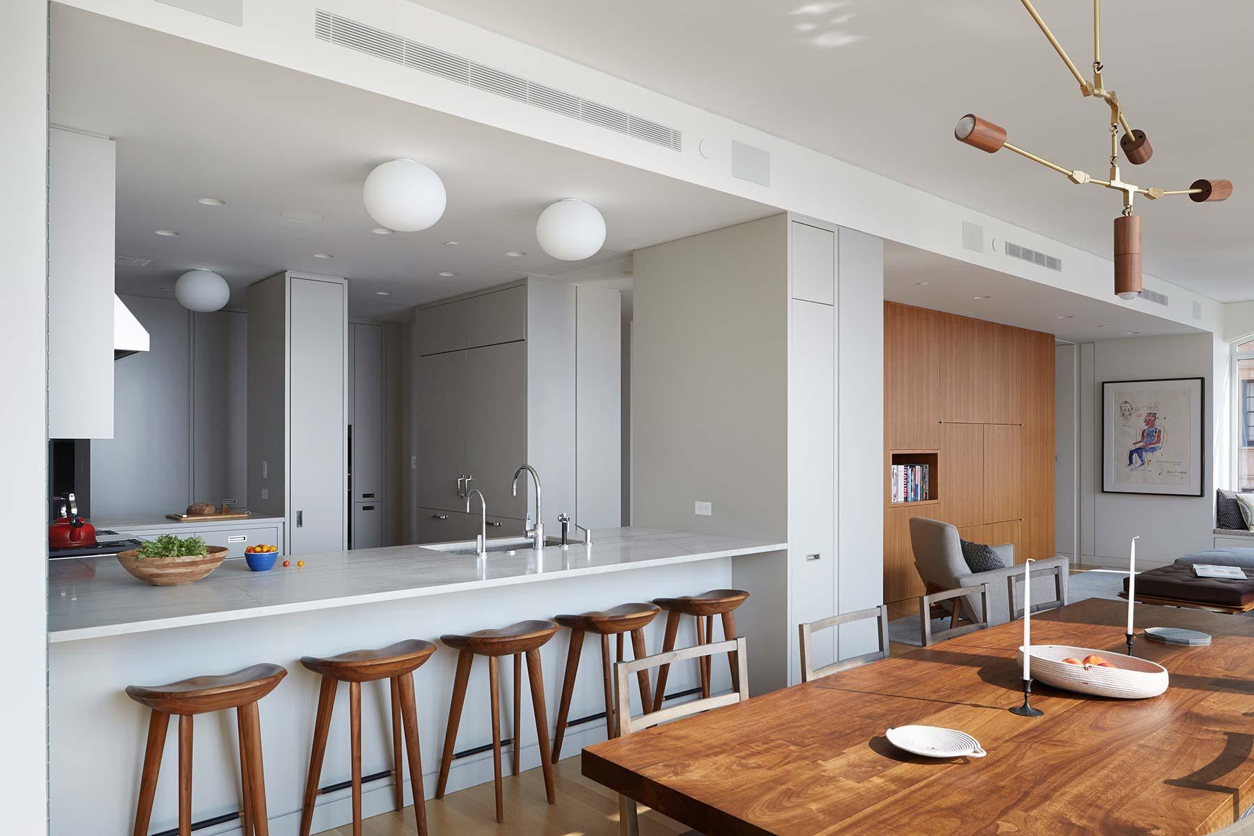 Pulltab design west village residence new york ny for Teich design west village