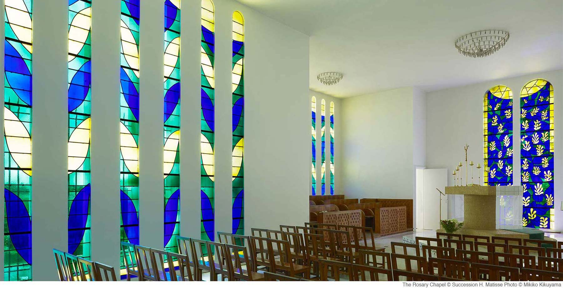 The Rosary Chapel 169 Succession H Matisse Photo 169 Mikiko